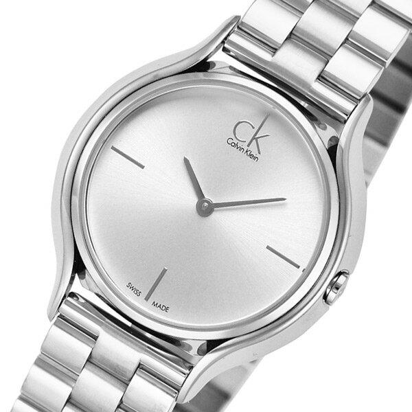 カルバンクライン Calvin Klein クオーツ レディース 腕時計 K2U23146 シルバー