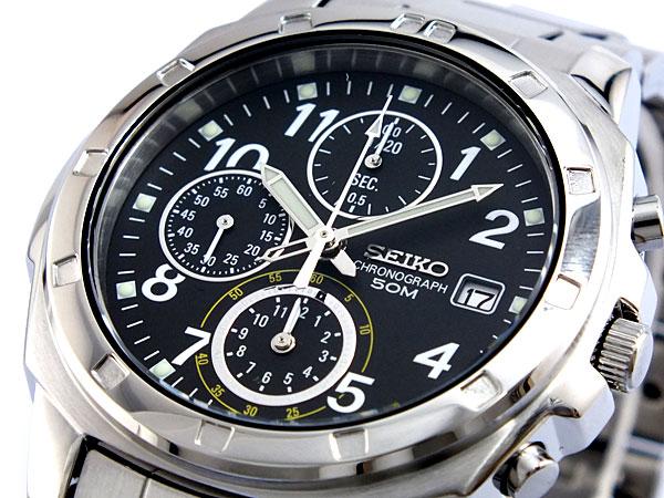 セイコー SEIKO クロノグラフ 腕時計 SND195P1