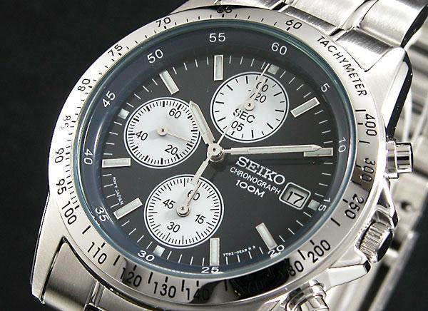 セイコー SEIKO クロノグラフ 腕時計 SND365
