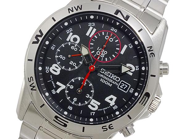 セイコー SEIKO クロノグラフ 腕時計 SND375P1