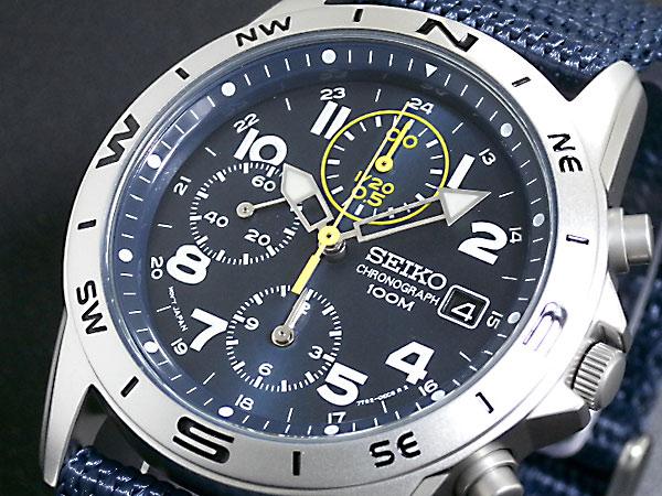 セイコー SEIKO クロノグラフ 腕時計 SND379R