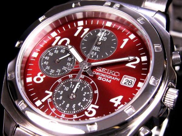 セイコー SEIKO クロノグラフ 腕時計 SND495