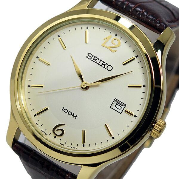 セイコー SEIKO クオーツ メンズ 腕時計 SUR150P1 シルバー