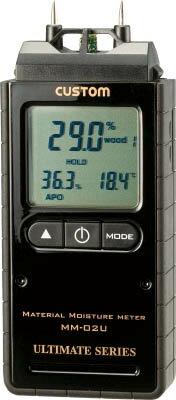 【代引不可】【メーカー直送】 カスタム【計測機器】デジタル水分計 MM02U (4492315)【ラッピング不可】