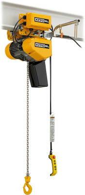 【代引不可】【メーカー直送】 キトー【チェンブロック・クレーン】 EQ形電気チェーンブロック 電気トロリ結合形 980kg(IS)×4m EQM009ISIS (4528280)【ラッピング不可】