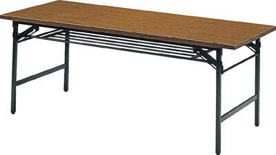 【代引不可】【メーカー直送】 TRUSCO トラスコ中山 【オフィス家具】 折リタタミ会議テーブル 900X450XH700 チーク 945 (2417511)【ラッピング不可】