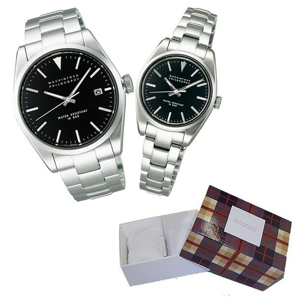 【国内正規品】【セット】 [セイコー]SEIKO 腕時計 FBZT980・FDAT981 MACKINTOSH PHILOSOPHY [マッキントッシュ フィロソフィー]【ペアウォッチ】