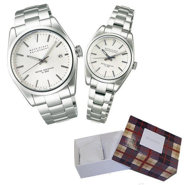 【国内正規品】【セット】 [セイコー]SEIKO 腕時計 FBZT981・FDAT982 MACKINTOSH PHILOSOPHY [マッキントッシュ フィロソフィー]【ペアウォッチ】