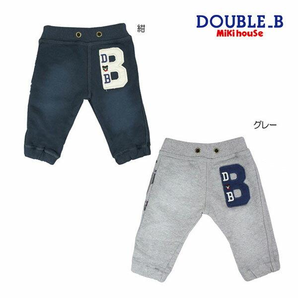ダブルB【DOUBLE B】ヴィンテージウォッシュ加工パンツ(100cm・110cm)