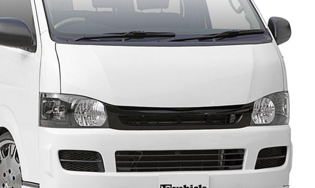 UI-vehicle ユーアイビークル ハイエース 200系 標準 ユーロボンネット 塗装済 ユーアイ
