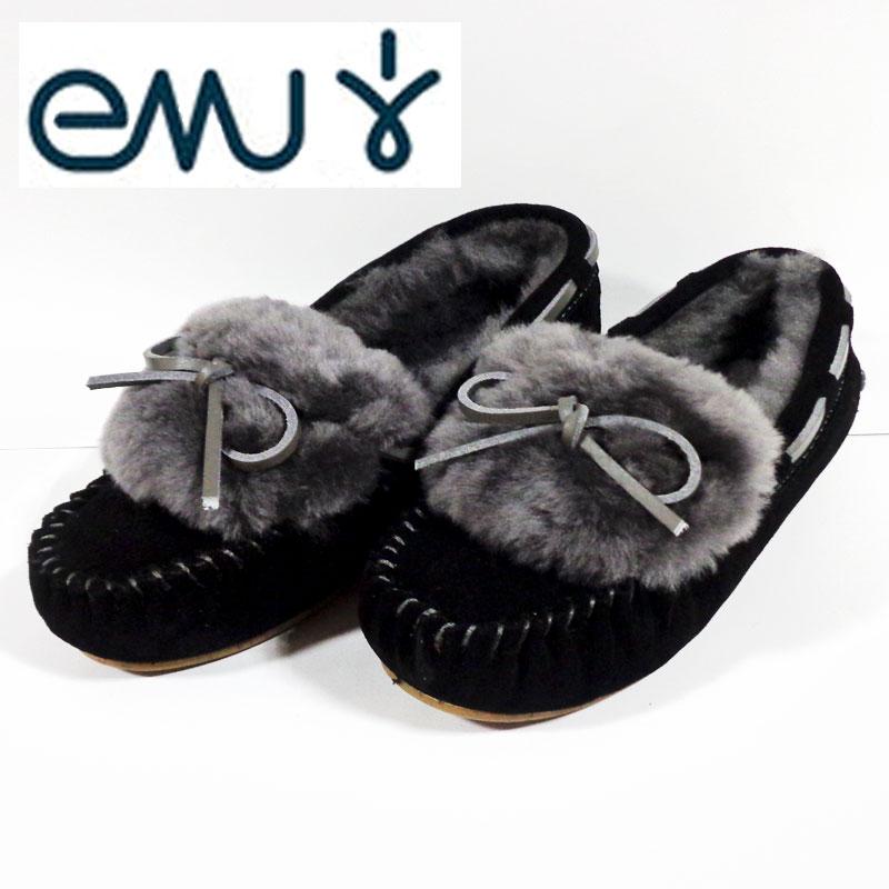 EMUエミュー(emu) モカシン アミティー カフ AMITY CUFF W11200-Black