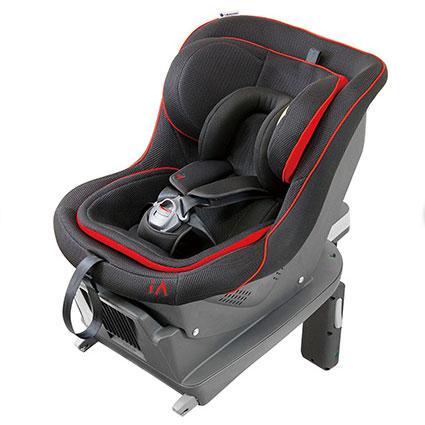 リーマン/LEAMAN:チャイルドシート iA01 エクエイターブラック FA-002 新生児対応/30002