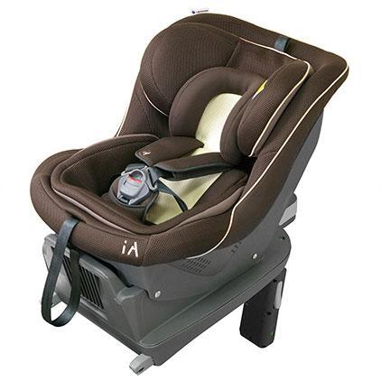リーマン/LEAMAN:チャイルドシート iA01 アースブラウン FA-003 新生児対応/30003