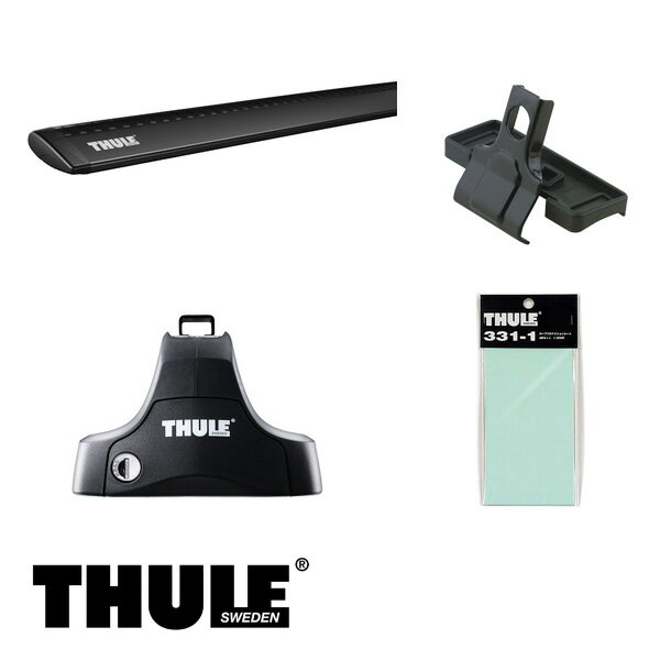THULE/スーリー アルト/アルト ワークス 5ドア H10/10~H16/9 HA12,HA22,HA23 キャリア 車種別セット/754+960B+1168