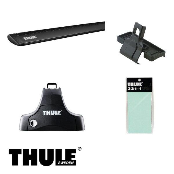 THULE/スーリー ワークス 5ドア H10/10~H16/9 HA12,HA22,HA23 キャリア 車種別セット/754+960B+1168