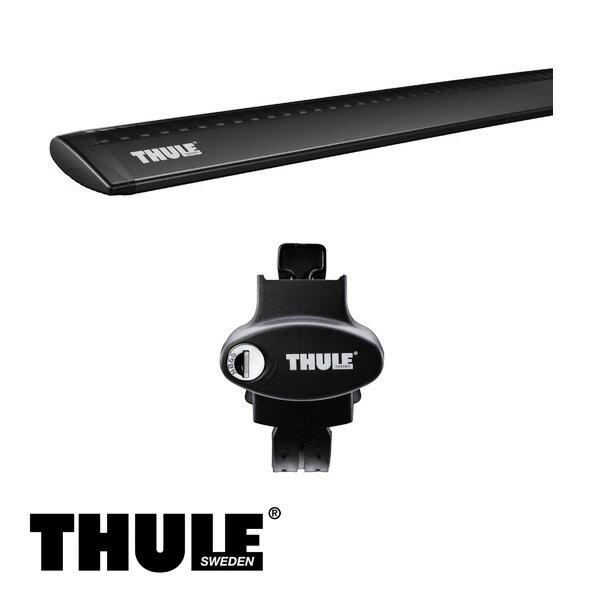 THULE/スーリー アウディ A4 オールロードクワトロ ルーフレール付 '16~ キャリア 車種別セット/775+969B