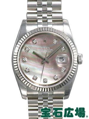 ロレックス デイトジャスト 116234NG【新品】【腕時計】【メンズ】【送料・代引手数料無料】