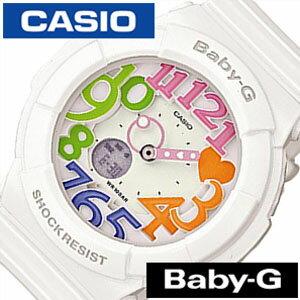 【5年保証対象】カシオ腕時計 CASIO時計 CASIO 腕時計 カシオ 時計 ベイビーG BABY-G レディース ホワイト BGA-131-7B3JF アナデジ デジタル 液晶 防水 マルチ カラー ネオン シンプル ベビーG