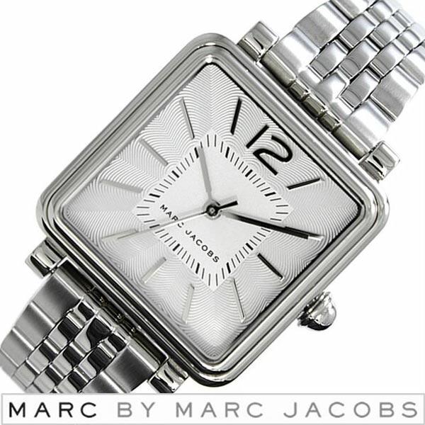 マークバイマークジェイコブス 腕時計 [ Marc By Marc Jacobs 時計 ] マークジェイコブス ヴィク [ Vic ] レディース シルバー [ 人気 ブランド 防水 メタル ベルト ]