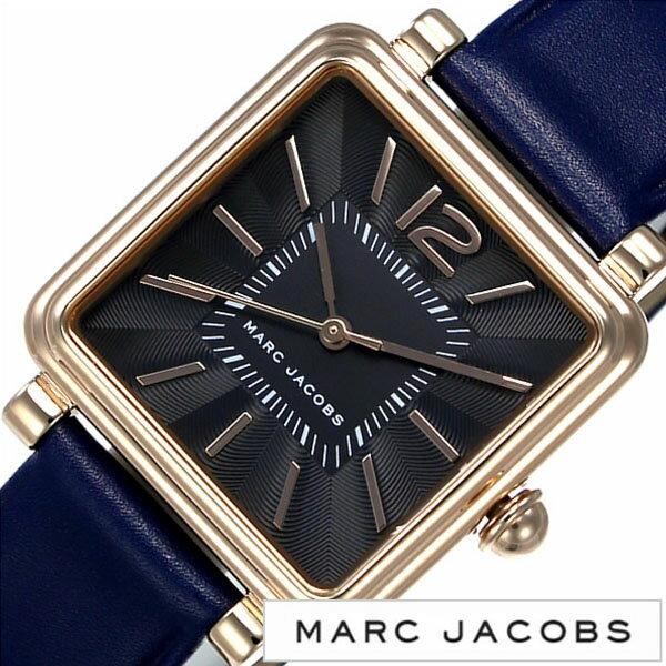 マークジェイコブス 腕時計 [ MARCJACOBS 時計 ] ヴィク ( VIC ) レディース ブラック [ ブランド 防水 革 レザー プレゼント ネイビー ]