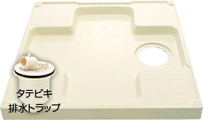 ��料無料】INAX イナックス洗濯機パン(排水トラップ+固定金具セット)PF-7464AC/L11+TP-51�RCP】