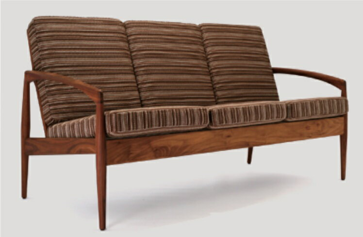 宮崎椅子製作所 Paper Knife sofa ペーパーナイフソファ 3P カイ クリスチャンセンデザイン Miyazaki Chair Factory Paper Knife (Kai Kristiansen)