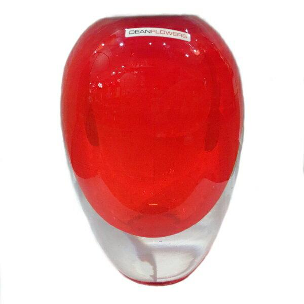 Henry Dean DEAN FLOWERS 花瓶 V.ball red インテリア・寝具・収納 インテリア小物・置物 花瓶その他 フラワーベース