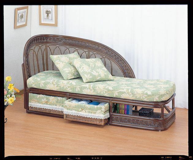 ゆったりとリラックスしたい私流くつろぎの形。 籐カウチソファー 籐製 ラタン 2人掛けソファ 二人掛けソファ アジアン 和風 送料無料 最安値に挑戦 新生活 引越
