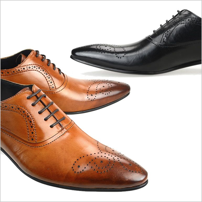 ルシウスLUCIUSビジネスシューズ革靴LUCIUS ビジネスシューズ ルシウス 革靴 紳士靴 メンズ 男性用/F3019-05 [ 革靴 レザー 本革/男性用 シューズ 3E/EEE メダリオン 内羽根 ]