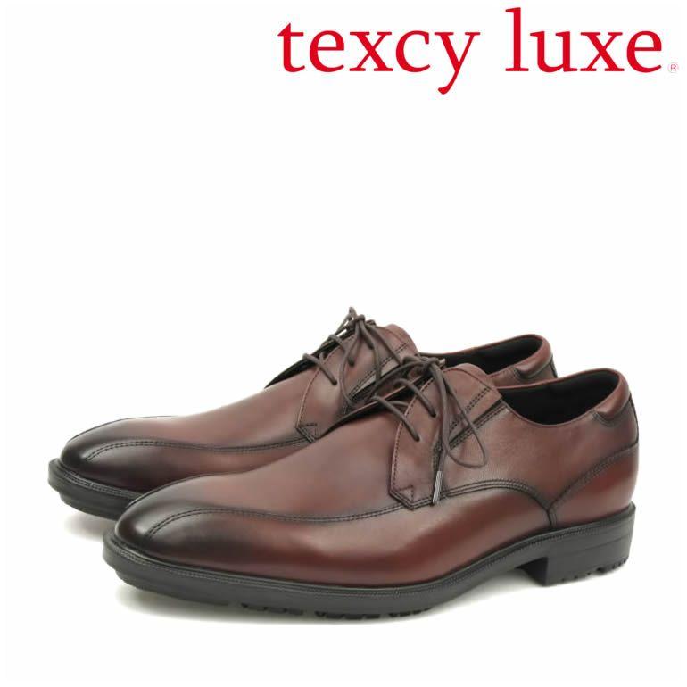 歩きやすさを追求した「テクシーリュクス」ビジネスシューズ!asiics trading 革靴 アシックス商事 スワールモカ メンズ[asics アシックス texcy luxe 本革 レザー 革靴 ビジネスシューズ ワイン WINE スワールモカ 消臭 幅広 2E 抗菌]
