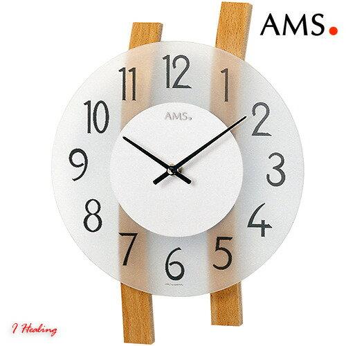 ドイツAMS9203掛け時計 AMSアムス社ドイツ製【送料無料】