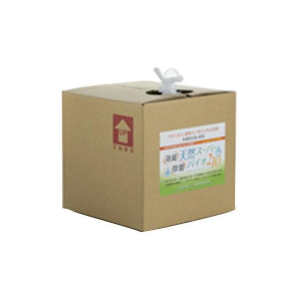 除菌剤 消臭剤 スーパーバイオ210 バックインBOX20L