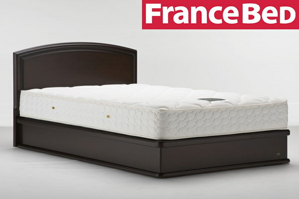 フランスベッド★ベッドフレーム+マットレスセット LT-121F SC+LT-500TH シングル シングルサイズ シングルベッド シングルベット [f1109]