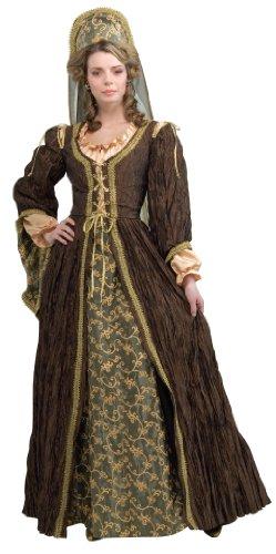 Rubie's Costume ルービーズ コスチューム ハロウィン Grand Heritage Collection Deluxe Anne Boleyn アン・ブーリン Costume, Brown, サイズ:M