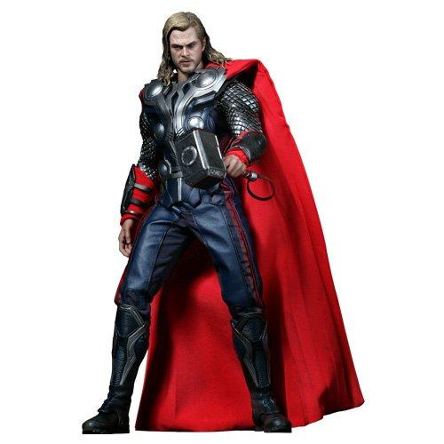 Hot Toys ホットトイズ ムービー・マスターピース アベンジャーズ マイティ・ソー フィギュア Movie Masterpiece - 1/6 Scale Fully Poseable Figure: The Avengers - Thor