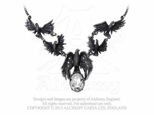Alchemy Gothic アルケミーゴシック ネックレス A Murder of Crows Necklace (P677)