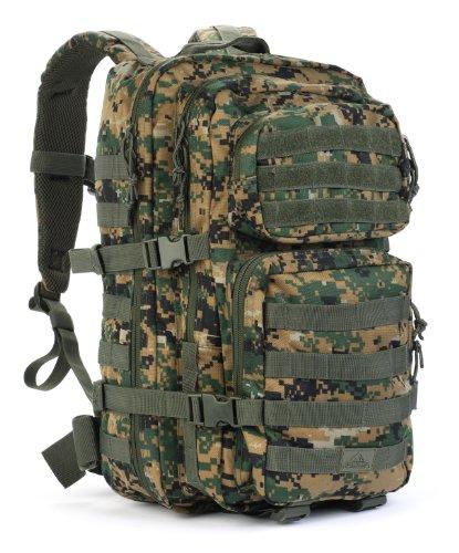 新発売 Red Rock Outdoor Gear レッドロックアウトドアギア アサルトパック Assault Pack (Large, Woodland Digital Camouflage)
