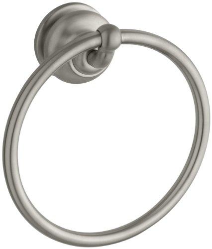 KOHLER コーラー タオルリング K-12165-BN Fairfax Towel Ring, Vibrant Brushed Nickel