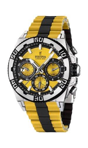 Festina フェスティナ クロノバイク メンズ腕時計 Chrono Bike F16659/7 Tour de France 2 Years Warranty Men's Watch