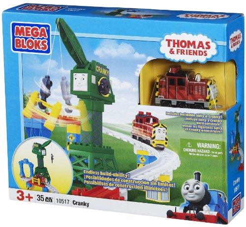 メガブロック 10517 きかんしゃトーマス クランキー Mega Bloks Thomas Cranky the Crane