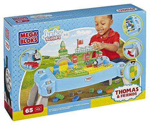 メガブロック テーブル きかんしゃトーマス ナップフォード Mega Bloks Thomas & Friends Busy Day at Knapford Table