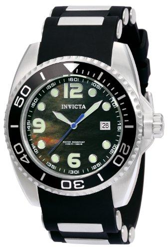 インビクタ 時計 インヴィクタ メンズ 腕時計 Invicta Men's 0492 Pro Diver Quartz 3 Hand Black Dial Watch