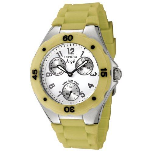 インヴィクタ インビクタ 腕時計 レディース 時計 Invicta Women's 0700 Angel Collection Green Multi-Function Rubber Watch