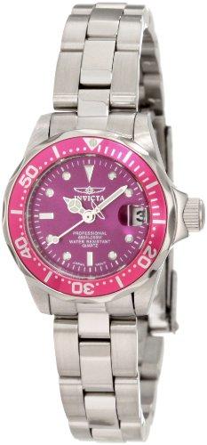 インヴィクタ インビクタ 腕時計 レディース 時計 Invicta Women's 11441 Pro Diver Mini Purple Dial Stainless Steel Watch