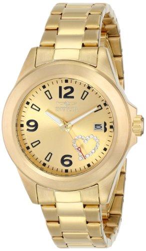 インヴィクタ インビクタ 腕時計 レディース 時計 Invicta Women's 16327 PRO DIVER Analog Display Japanese Quartz Gold Watch