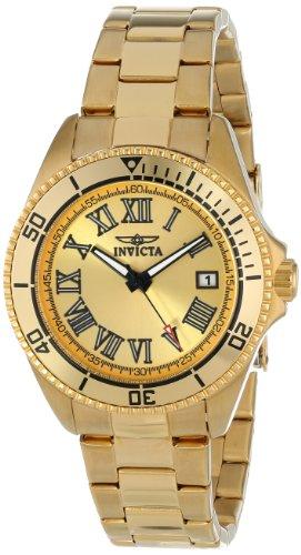 インヴィクタ インビクタ 腕時計 レディース 時計 Invicta Women's INVICTA-15094 Pro Diver Analog Display Japanese Quartz Gold Watch