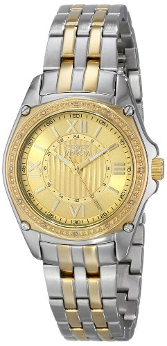 インヴィクタ インビクタ 腕時計 レディース 時計 Invicta Women's 16322 Angel Diamond-Accented Two-Tone Stainless Steel Bracelet Watch