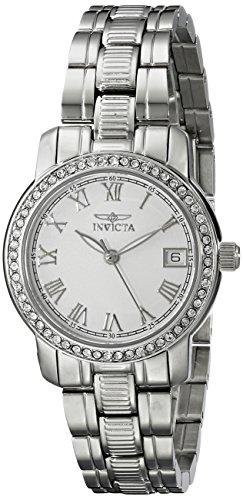 インヴィクタ インビクタ 腕時計 レディース 時計 Invicta Women's 18077 Specialty Analog Display Swiss Quartz Silver Watch