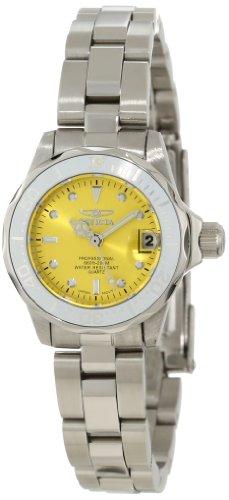 インヴィクタ インビクタ 腕時計 レディース 時計 Invicta Women's 12520 Pro-Diver Yellow Dial Watch