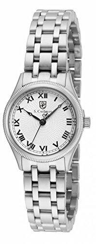インヴィクタ インビクタ 腕時計 レディース 時計 Invicta S. Coifman White Dial Stainless Steel Ladies Watch SC0340